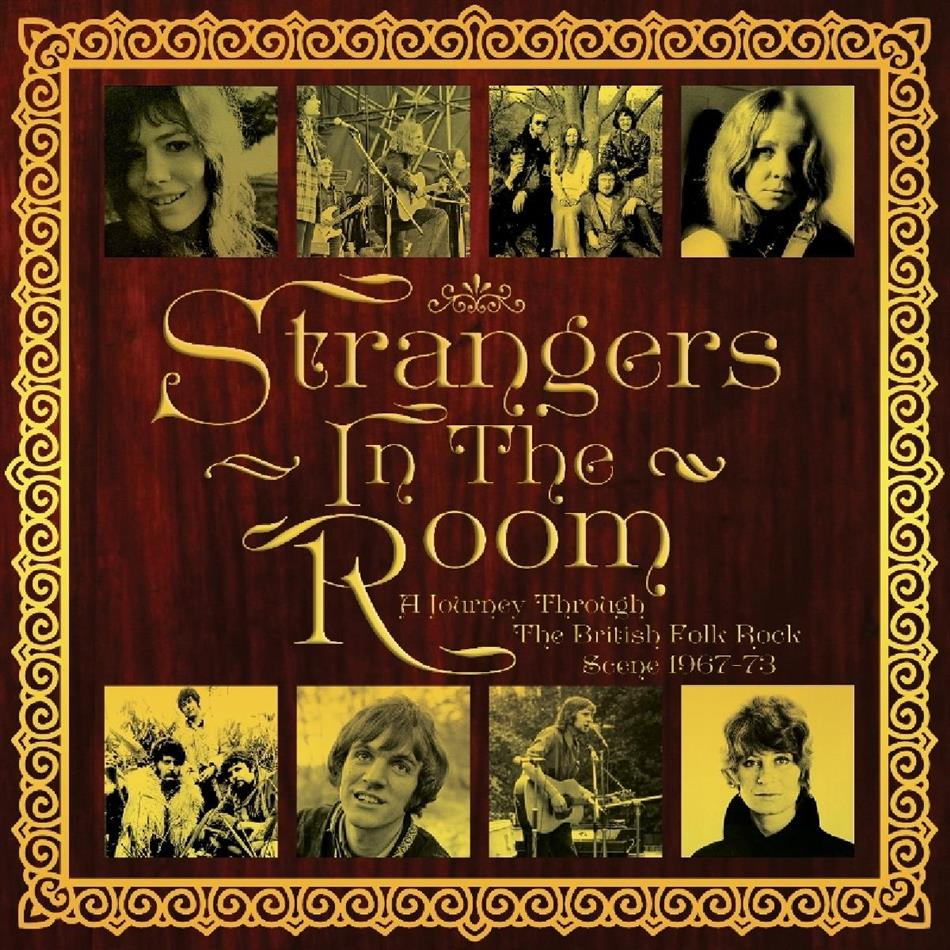 Strangers In The Room - A Journey Through The British Folk Rock Scene 1967-1973 (Clamshell Box, 3 CD)