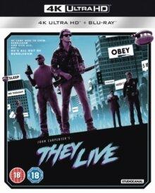 They Live (1988) (4K Ultra HD + Blu-ray)