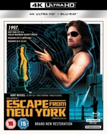 Escape From New York (1981) (4K Ultra HD + Blu-ray)