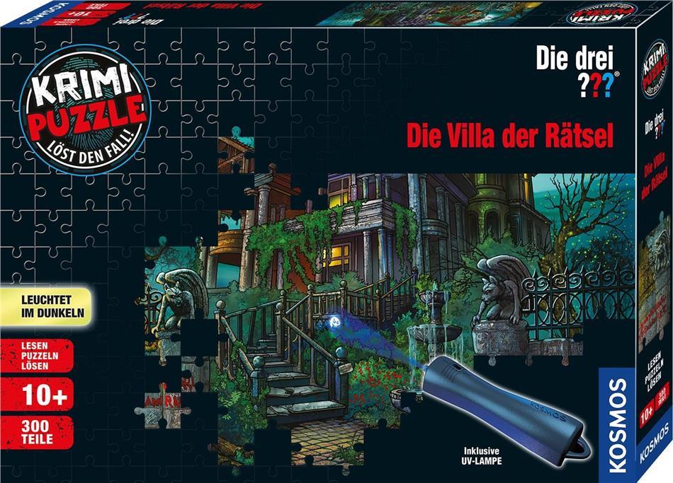 Die drei ???: Die Villa der Rätsel - Krimipuzzle 300 Teile