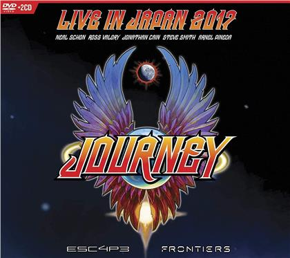 Journey - Live In Japan 2017: Escape + Frontiers (2 CDs + DVD)