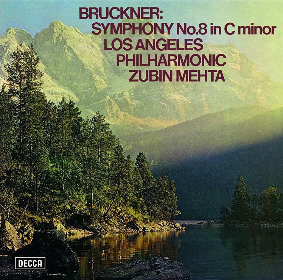 Anton Bruckner (1824-1896), Zubin Mehta & Los Angeles Philharmonic - Symphony No. 8 (Japan Edition)