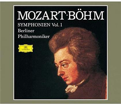 Wolfgang Amadeus Mozart (1756-1791), Karl Böhm & Berliner Philharmoniker - Symphonies Vol. 1 (Japan Edition, 4 CDs)