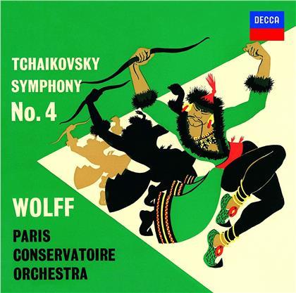 Peter Iljitsch Tschaikowsky (1840-1893), Héctor Berlioz (1803 - 1869), Albert Wolff & Paris Conservatoire Orchestra - Symphony No. 4 / Ouverture Les Francs-Juges/Carnaval Romain (Japan Edition)