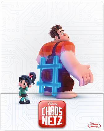 Chaos im Netz - Ralph reichts 2 (2018) (Limited Edition, Steelbook)