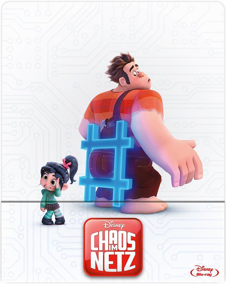Chaos im Netz - Ralph reichts 2 (2018) (Edizione Limitata, Steelbook)