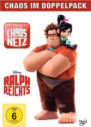 Chaos im Netz - Ralph reichts 2 & Ralph reichts - Chaos im Doppelpack (2 DVDs)