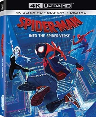 Spider Man Into The Spider Verse 2018 4k Ultra Hd Blu Ray Cede Com