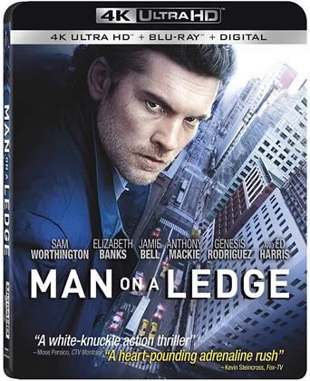 Man On A Ledge (2012) (4K Ultra HD + Blu-ray)