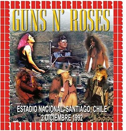 Guns N' Roses - Estadio Nacional, Santiago, Chile - December 2 1992 - Futuro Radio Fm Broadcast (2 LPs)
