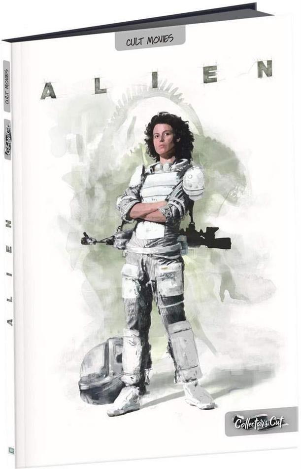 Alien (1979) (Film Culte, Format A4, Collector's Cut, Digibook, Director's Cut, Kinoversion, Blu-ray + DVD)