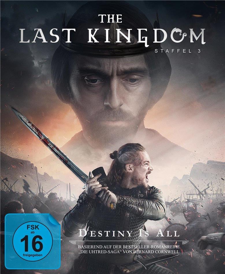 The Last Kingdom - Staffel 3 (4 Blu-rays)