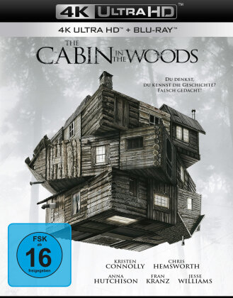 The Cabin in the Woods (2012) (4K Ultra HD + Blu-ray)