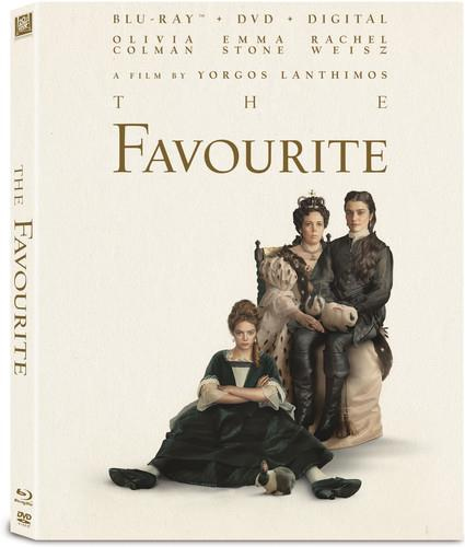 The Favourite (2018) (Blu-ray + DVD)