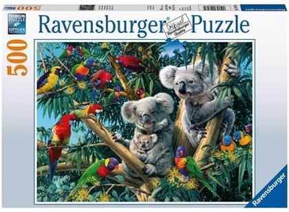 Koalas im Baum - 500 Teile Puzzle