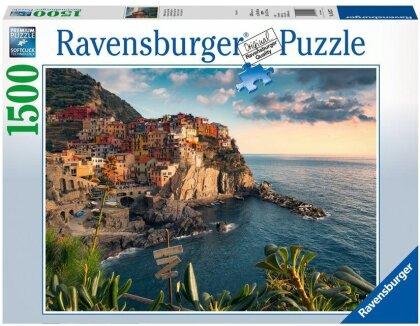 Blick auf Cinque Terre - 1500 Teile Puzzle