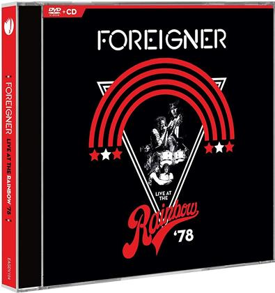 Foreigner - Live At The Rainbow '78 (DVD + CD)