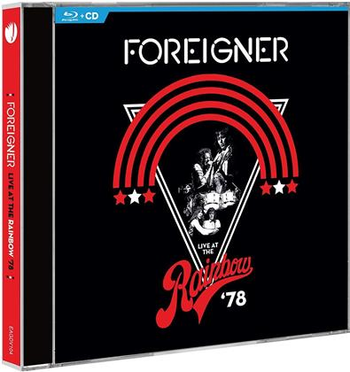 Foreigner - Live At The Rainbow '78 (Remixed, Remastered, Restaurierte Fassung, Blu-ray + CD)