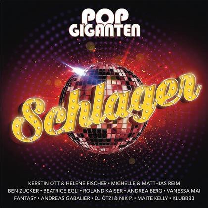 Pop Giganten - Schlager (2 CDs)