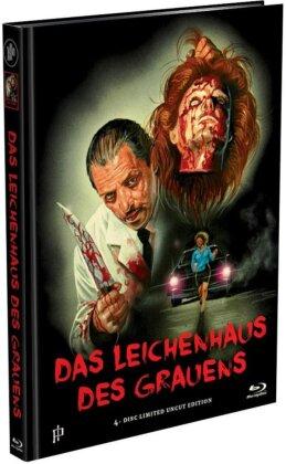 Das Leichenhaus des Grauens (1988) (Cover C, Limited Edition, Mediabook, Premium Edition, Uncut, 2 Blu-rays + 2 DVDs)