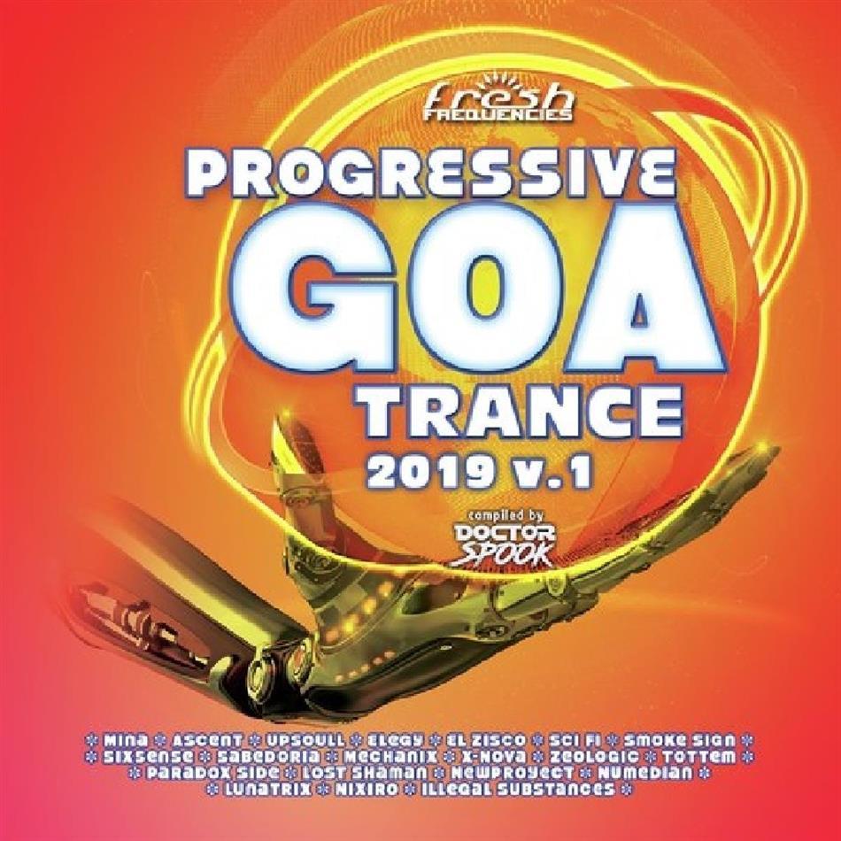 Progressive Goa 2019 Vol. 1 (2 CDs)