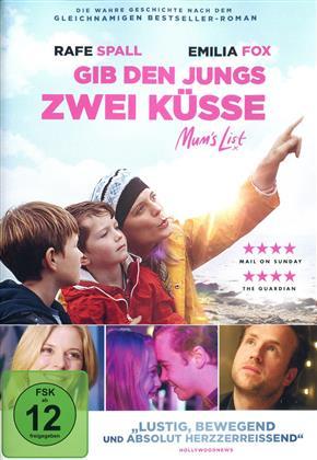 Gib den Jungs zwei Küsse - Mum's List (2016)