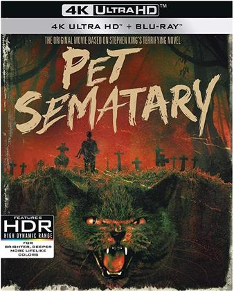 Pet Sematary (1989) (30th Anniversary Edition, 4K Ultra HD + Blu-ray)