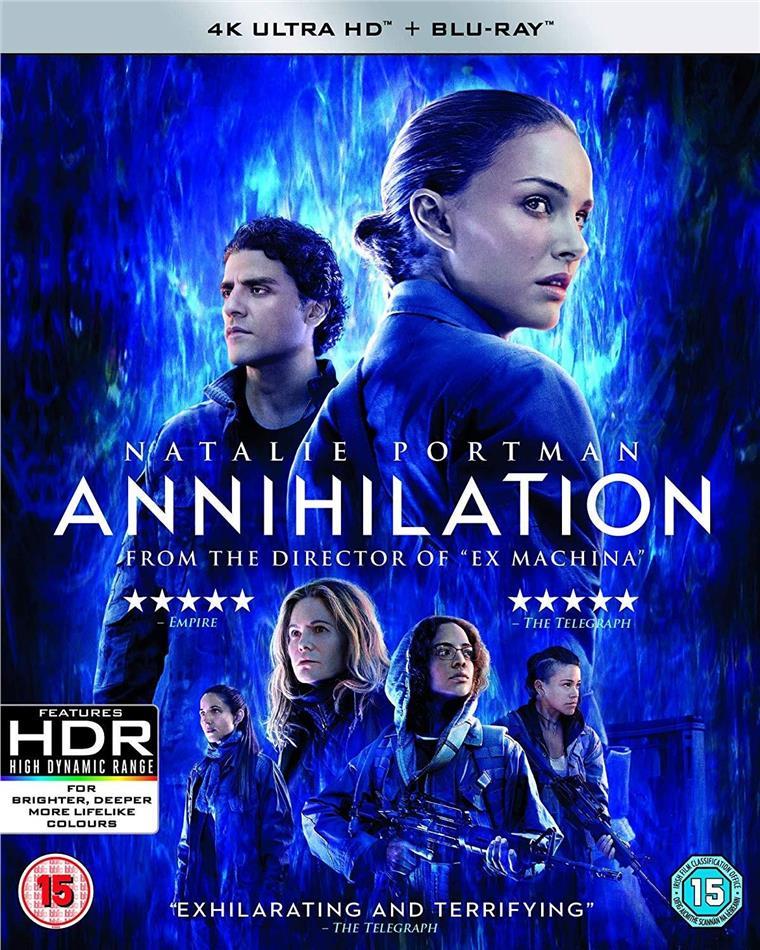 Annihilation (2018) (4K Ultra HD + Blu-ray)