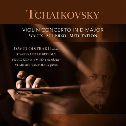 Peter Iljitsch Tschaikowsky (1840-1893), Franz Konwitschny, David Oistrakh & Staatskapelle Dresden - Violin Concerto In D Major (Vinyl Passion, LP)