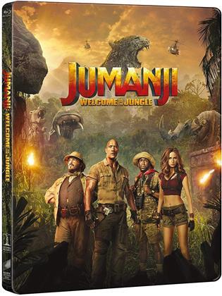 Jumanji - Benvenuti nella giungla (2017) (Steelbook)