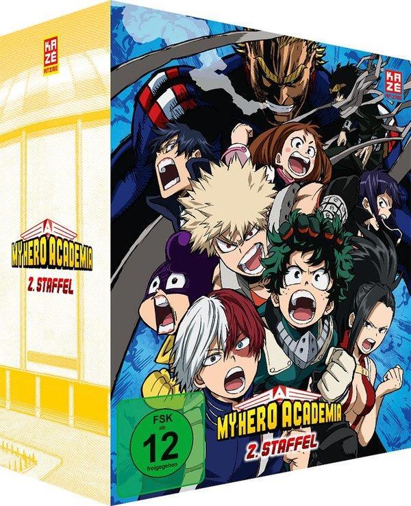 My Hero Academia - Staffel 2 - Vol. 1 (+ Sammelschuber, Edizione Limitata)
