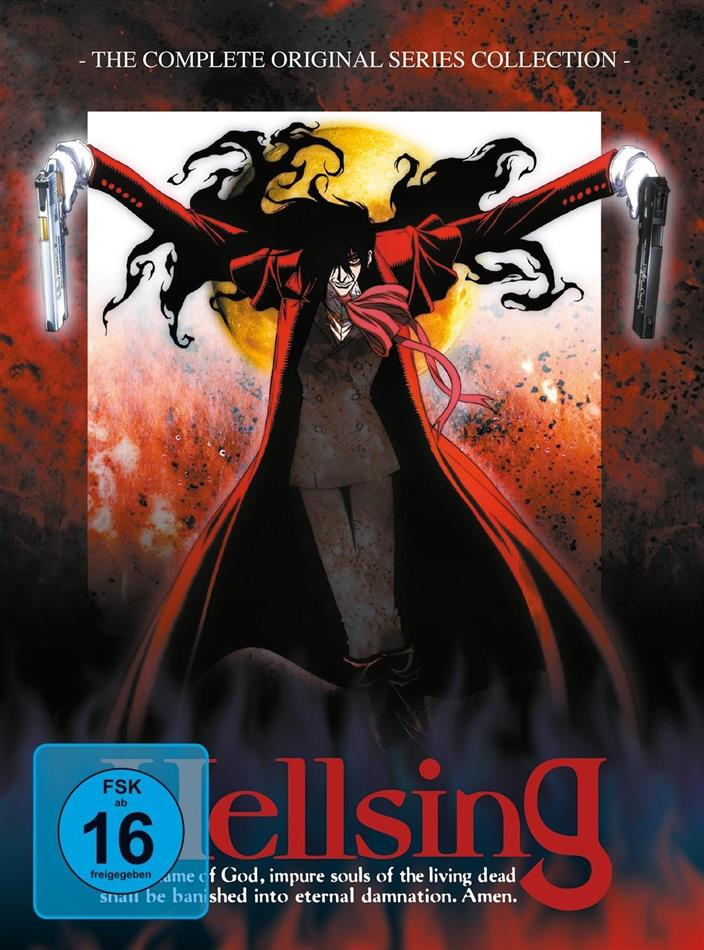 Hellsing - Gesamtausgabe (Digipack, 4 DVDs)
