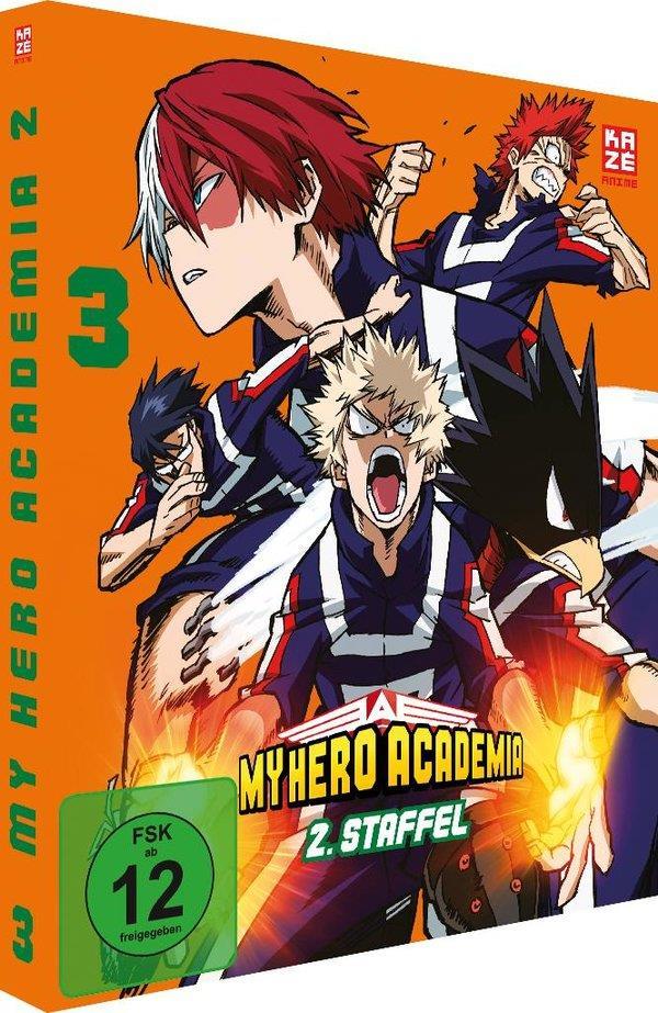 My Hero Academia - Staffel 2 - Vol. 3