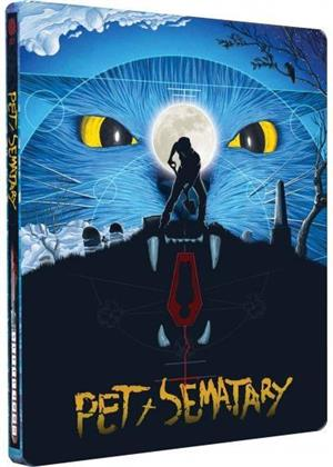 Pet Sematary - Simetierre (1989) (Limited Edition, Steelbook, 4K Ultra HD + Blu-ray)