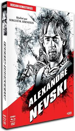 Alexandre Nevski (1938) (Schuber, s/w, Digibook, Remastered, Blu-ray + DVD)
