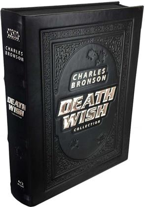 Death Wish Collection - 1-5 (Leatherbook, Limited Edition, Mediabook, Uncut, 5 Blu-rays)