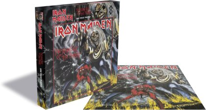 Iron Maiden - The Number Of The Beast Rock Music Puzzle