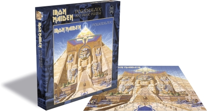 Iron Maiden - Powerslave Rock Music Puzzle
