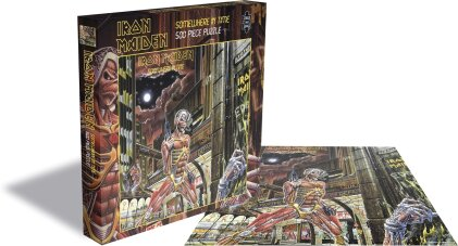 Iron Maiden - Somewhere In Time Rock Music Puzzle