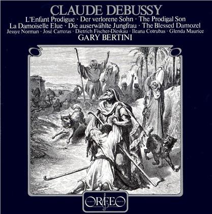 Claude Debussy (1862-1918), Gary Bertini, Jessye Norman, Ileana Cotrubas & Dietrich Fischer-Dieskau - L'enfant Prodique, La Damoiselle Elue (LP)