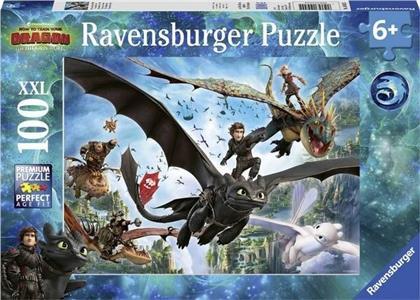 Dragons: Die verborgene Welt - 100 XXL Teile Puzzle