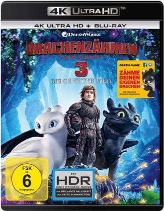 Drachenzähmen leicht gemacht 3 - Die geheime Welt (2019) (4K Ultra HD + Blu-ray)