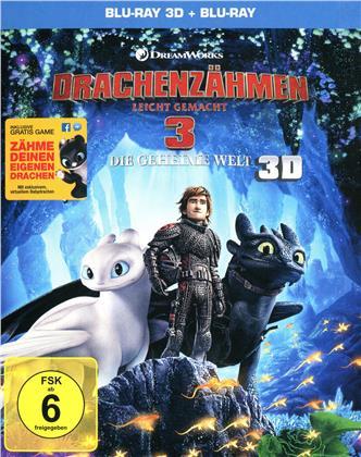 Drachenzähmen leicht gemacht 3 - Die geheime Welt (2019) (Blu-ray 3D + Blu-ray)