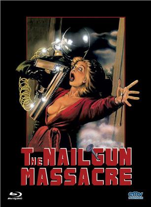 The Nail Gun Massacre (1985) (Cover B, Limited Edition, Mediabook, Uncut, Blu-ray + DVD)