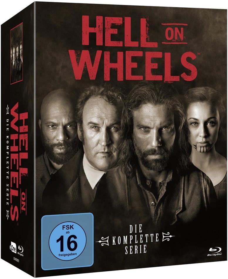 Hell on Wheels - Die komplette Serie (17 Blu-rays)