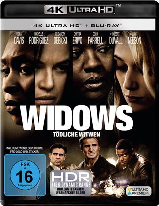 Widows - Tödliche Witwen (2018) (4K Ultra HD + Blu-ray)