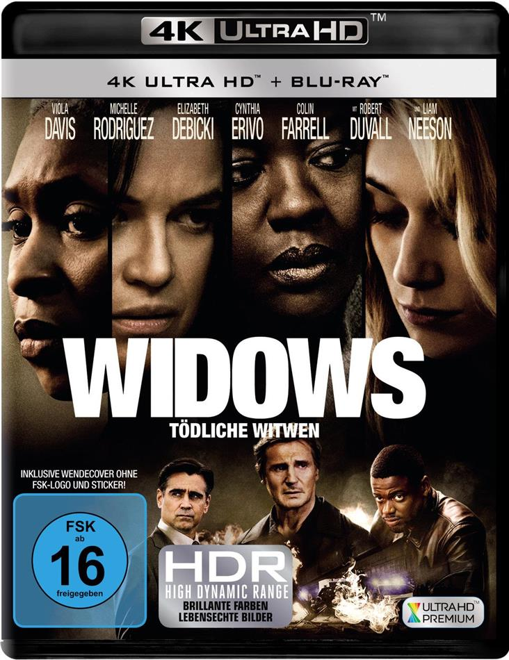 Widows - Tödliche Witwen (2018) (4K Ultra HD + Blu-ray)
