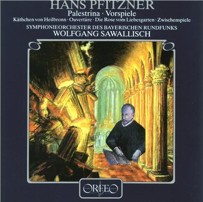 Hans Erich Pfitzner (1869 - 1949), Wolfgang Sawalisch & Symphonieorchester des Bayerischen Rundfunks - Palestrina - Vorspiele (LP)
