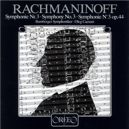 Sergej Rachmaninoff (1873-1943), Oleg Caetani & Bamberger Symphoniker - Symphony No. 3 (LP)