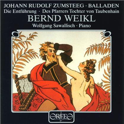 Bernd Weikl, Johann Rudolf Zumsteeg & Wolfgang Sawallisch - Balladen - Die Entführung, Des Pfarrers Tochter Von Taubenhain (LP)